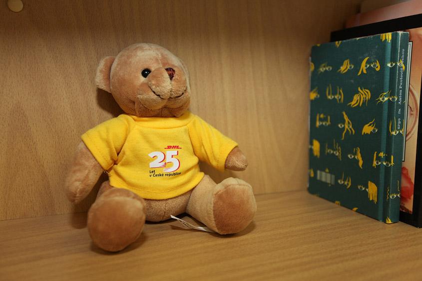 DHL медведь, DHL medvídek