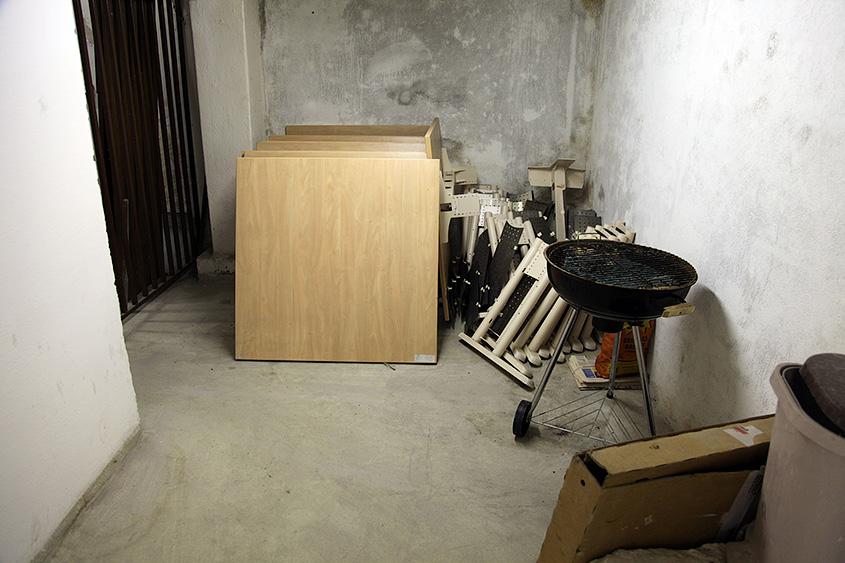 Велосипедохранилище в общежитии ЧВУТ Орлик