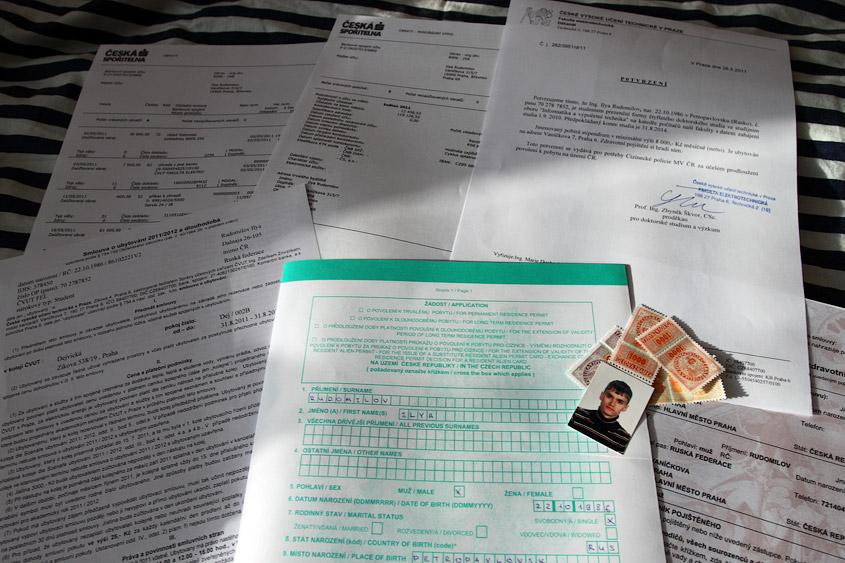 Продление студенческой визы