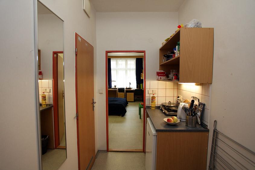 Общежитие Орлик, ЧВУТ, Прага (kolej Orlík ČVUT)